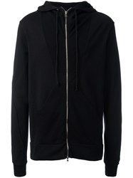 Lost And Found Rooms Zip Up Hoodie Black