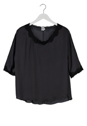 Saint Tropez Blouse Black
