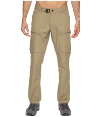 Fjall Raven Fjallraven Abisko Shade Trousers Savanna Casual Pants Brown