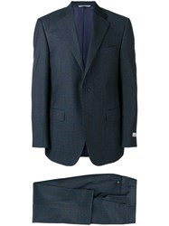 Canali Two Piece Suit Blue