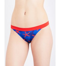 La Perla Summer Energy Bikini Bottoms Dark Blue