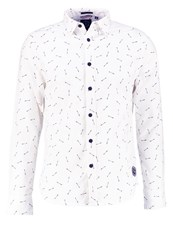 Le Temps Des Cerises Indian Regular Fit Shirt Off White