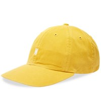 Norse Projects Twill Sports Cap Yellow