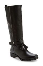 Dav Women's Inverness Faux Shearling Lined Water Resistant Boot Black