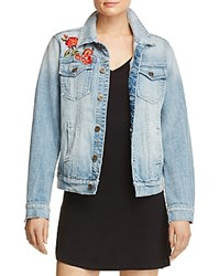 Aqua Rose Denim Jacket Medium Wash