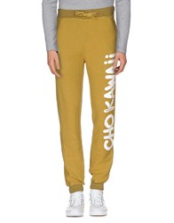 Happiness Trousers Casual Trousers Men Ocher