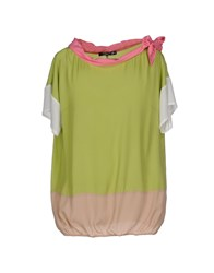 Cristinaeffe Collection Shirts Blouses Women Acid Green