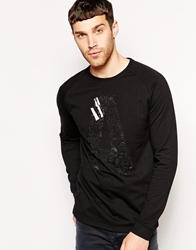 Anerkjendt Long Sleeve T Shirt Caviar