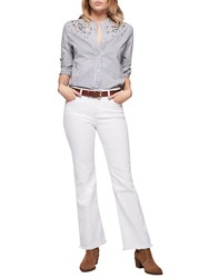 Gerard Darel Peggy Trousers White