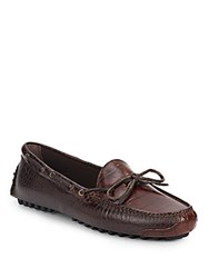 Cole Haan Gunnison Leather Moccasins Brown