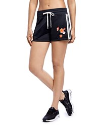 2Xist 2 X Ist Retro Embroidered Shorts Black