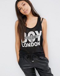 Boy London Mesh Vest Black