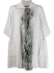 Max And Moi Fati Cardigan Grey