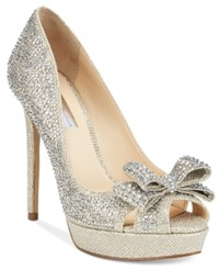 Inc International Concepts Vernaa Rhinestone Bow Platform Pumps Only At Macy's Women's Shoes