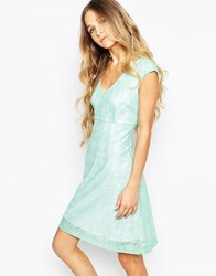 Traffic People Never Ending Story Swoon Dress In Lace Green