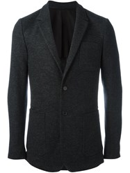 Ami Alexandre Mattiussi Patch Pocket Blazer Grey
