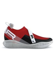 Swear Crosby Sneakers Red Black White