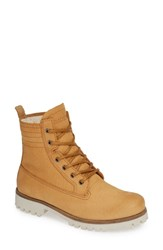 Blackstone Ol22 Lace Up Boot With Genuine Shearling Lining Cuoio Leather