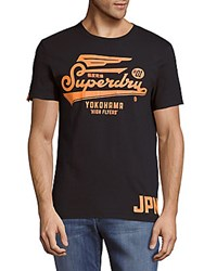 Superdry High Flyers Cotton Tee Eclipse Navy