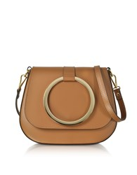 Le Parmentier Handbags Cognac Smooth Leather Shoulder Bag