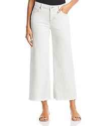 Eileen Fisher Wide Leg Ankle Jeans In Unnatural