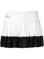 Adidas By Stella Mccartney Barricade Tennis Skirt White