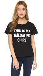 Style Stalker Tailgate Distressed Tee Washed Black