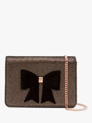 d3a54146d85b5c Ted Baker Lyle Giant Knot Bow Leather Evening Bag Light Pink. £109. John  Lewis. Save. Ted Baker Jeminna Bow Evening Clutch Bag Rosegold