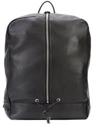 Daniel Patrick Roamer Backpack Men Leather One Size Black
