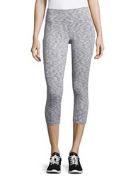 Calvin Klein Stretchy Cropped Pants Grey Combo