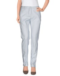 Tonello Trousers Casual Trousers Women Sky Blue