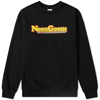 Noon Goons Pinned Crew Sweat Black