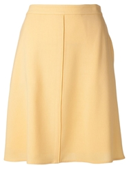 3.1 Phillip Lim High Waisted A Line Skirt Yellow And Orange