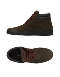 U.S. Polo Assn. U.S.Polo Footwear High Tops And Sneakers Military Green