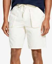 Dkny Pull On Shorts Bone White