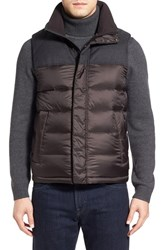 Tumi Men's 'Heritage' Quilted Down Vest Brown