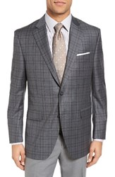 Peter Millar Men's Classic Fit Plaid Sport Coat