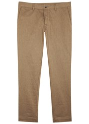 J. Lindeberg Chaze Camel Twill Trousers