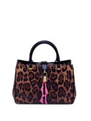 Dolce And Gabbana Leopard Print Shoulder Bag