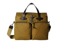 Filson 24 Hour Tin Briefcase Dark Tan Briefcase Bags Brown