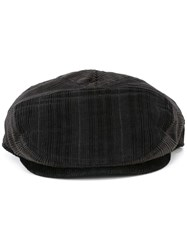 Dolce And Gabbana Corduroy Flat Cap Black
