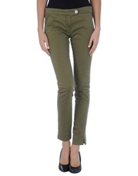 Kayla Casual Pants Military Green