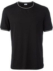 Dolce And Gabbana Underwear Trimmed T Shirt Black