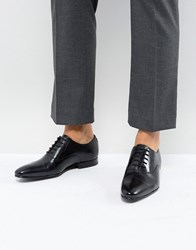 Ted Baker Murain Leather Oxford Shoes In Black Black