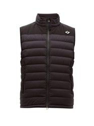 Burberry Tb Logo Quilted Down Gilet Black