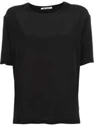Barena Loose Fit T Shirt Black