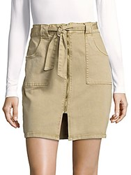 Saks Fifth Avenue Tie Waist Skirt Natural
