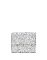 Vince Camuto Blane Embellished Clutch Silver