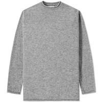 Mhl By Margaret Howell Mhl. Rolled Edge Crew Knit Grey