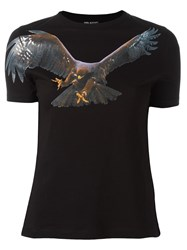 Neil Barrett Eagle Print T Shirt Black